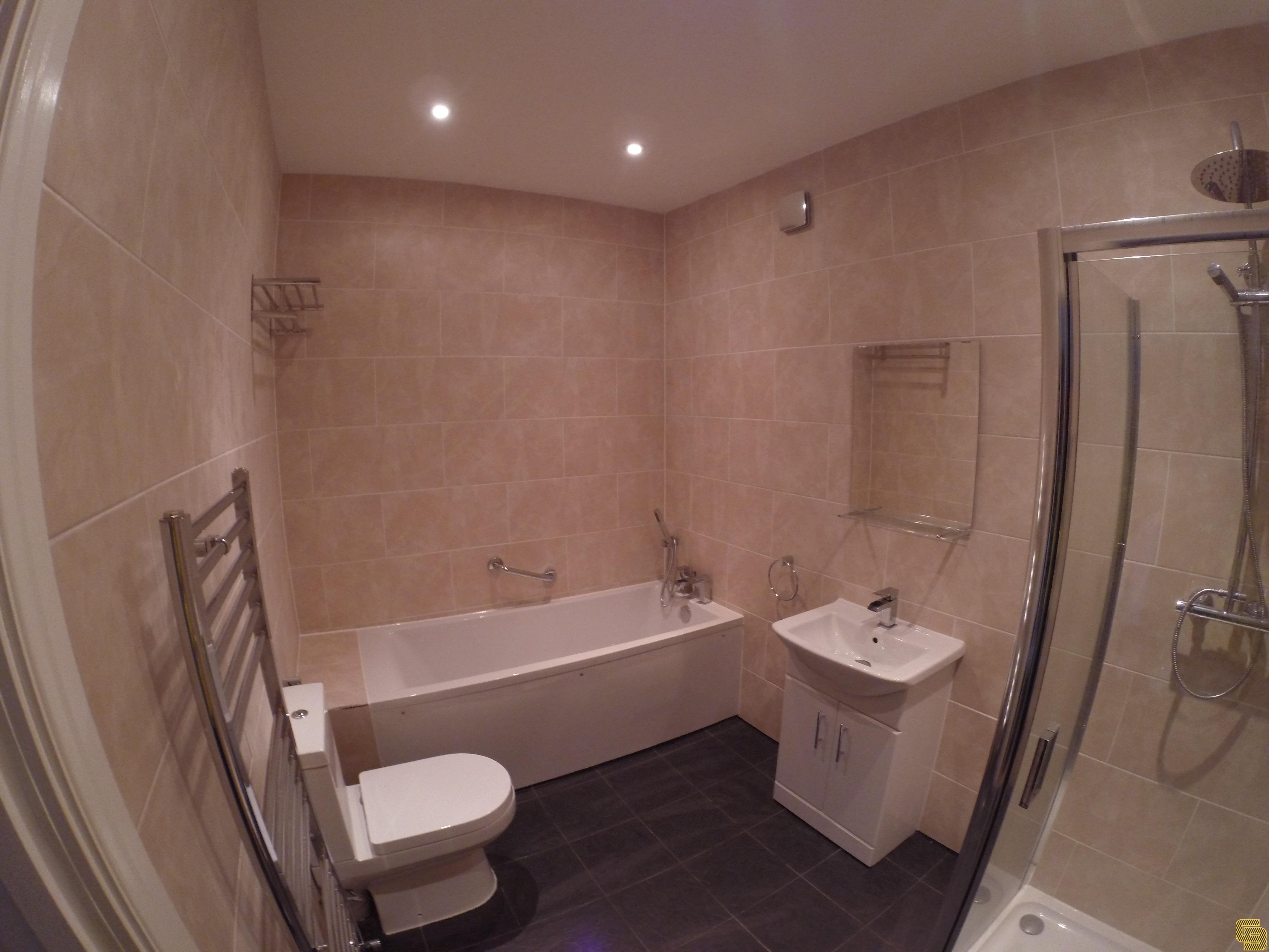 Budget Bathroom Renovation (After)