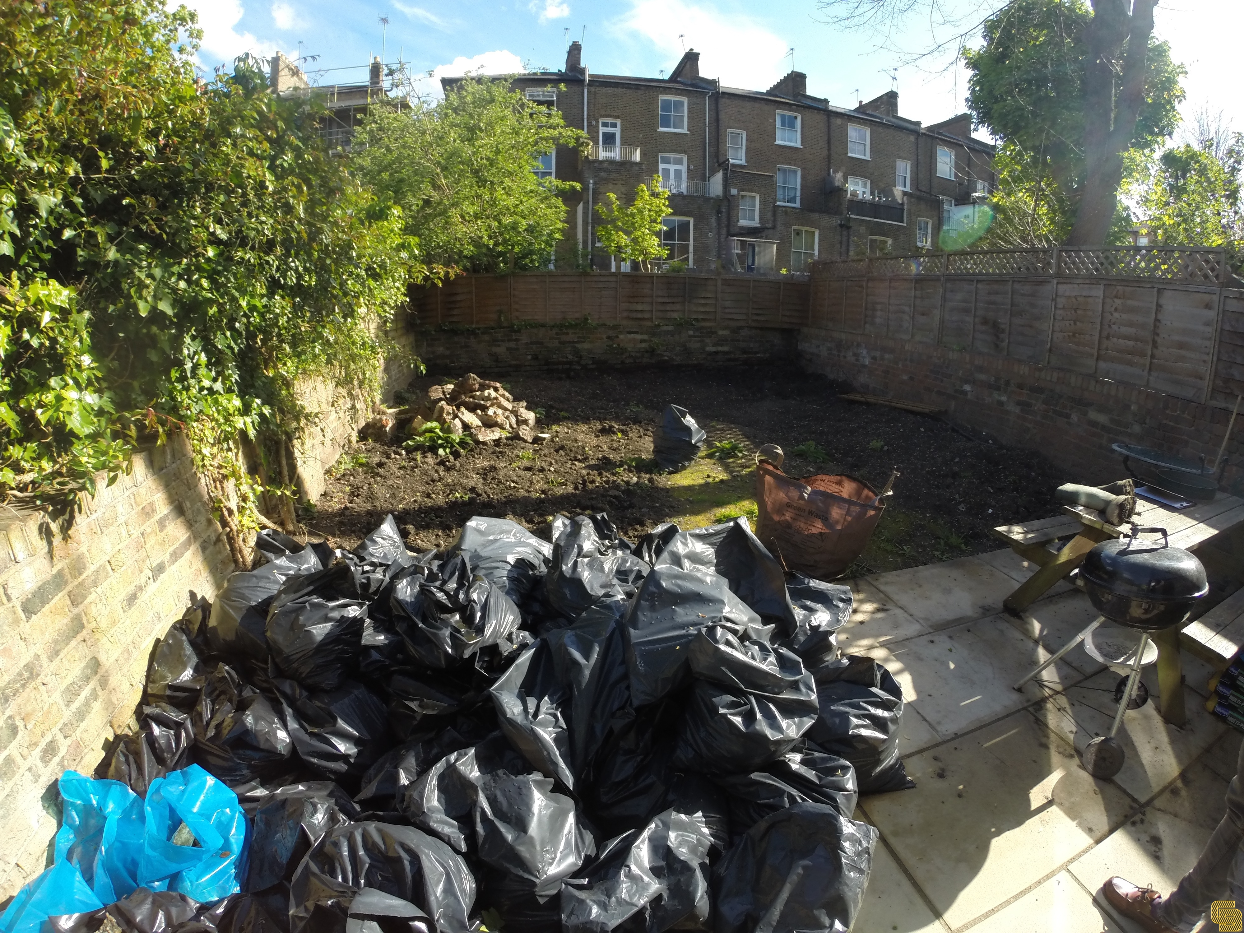 Rear Garden Renovation (Before)