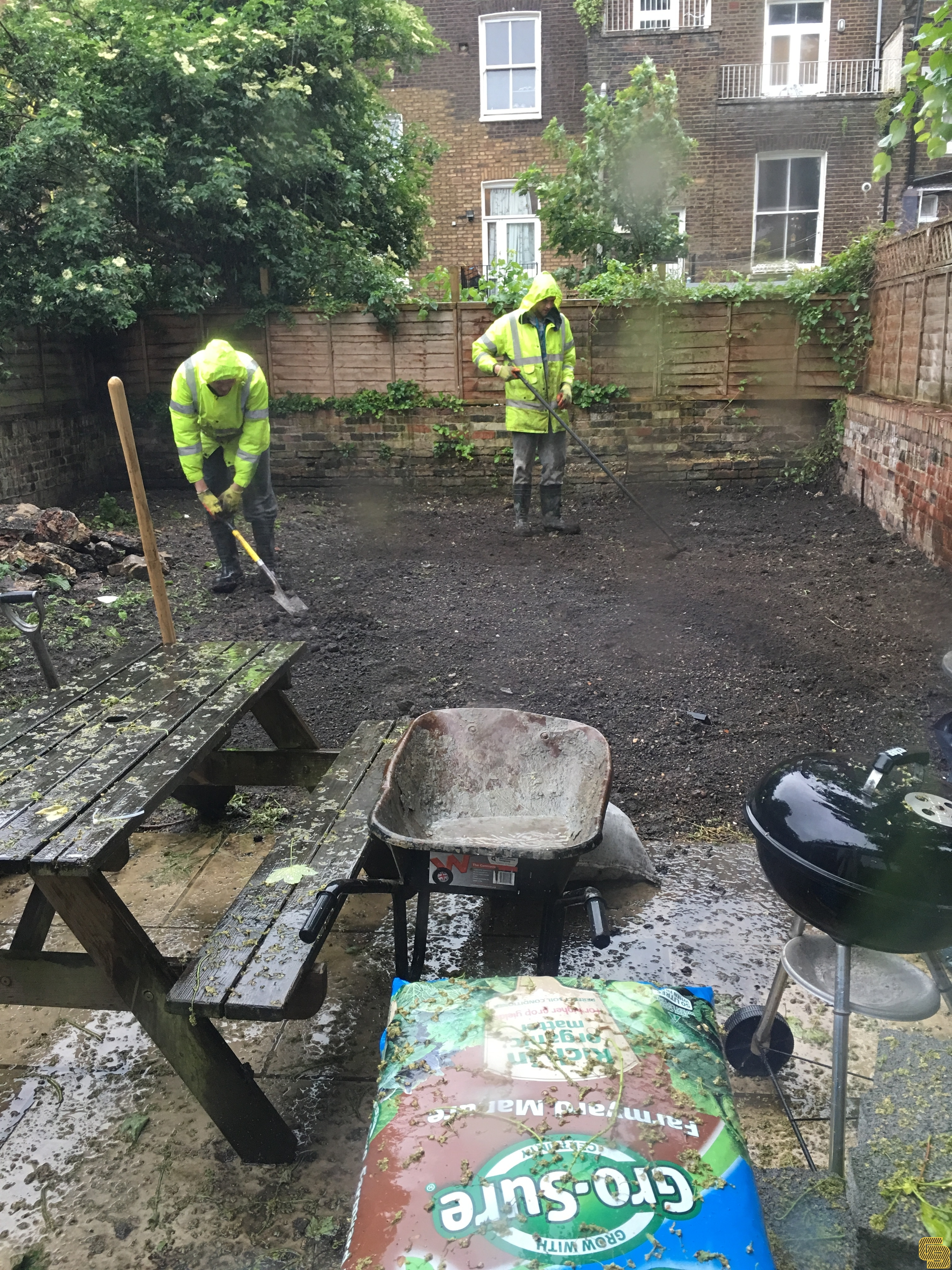 Rear Garden Renovation (Preparation)
