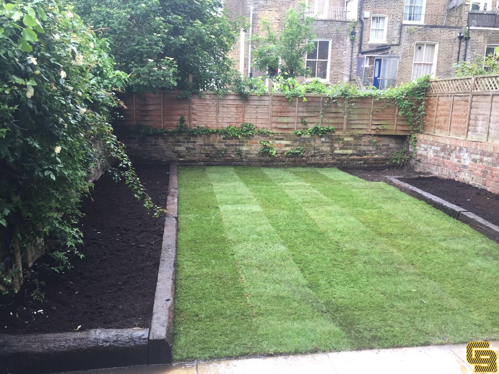 Rear Garden Renovation (After)