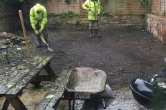 Rear Garden Renovation (Preparation)