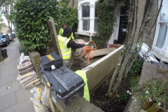 Victorian Mosaics/Tiles in Tufnell Park (Site Preparation)