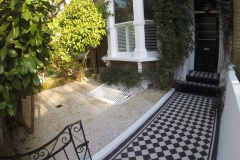 Victorian Mosaics/Tiles in Tufnell Park (After)
