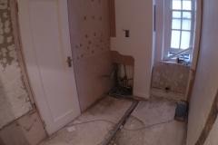 Wet room at High Street Kensington (Preparation)