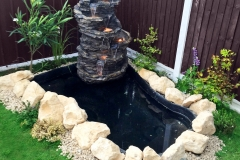Landscaping with Water Feature (After 1)