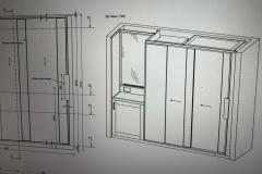 Fitted build-in furniture design drawings 1 by Construction Bear